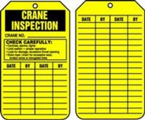 - Crane Status Safety Tags: Crane Inspection