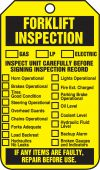 - Equipment Status Safety Tag: Forklift Inspection