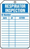 - Equipment Status Safety Tag: Respirator Inspection