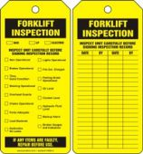 - Jumbo Inspection Status Safety Tag: Forklift Inspection