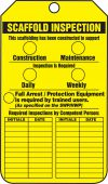 - Scaffold Status Safety Tag: Scaffold Inspection