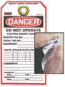 - Custom Safety Tag Materials: Tyvek® Tags