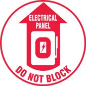 - LED Sign Projector Lens Only:Electrical Panel - Do Not Block