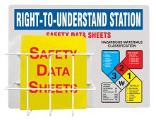 - NFPA Basket-Style Aluminum Center: Right-To-Understand Station