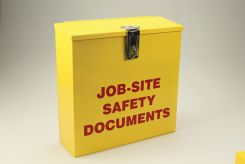 - Job-Site Safety Documents Box