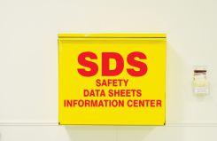 - SDS Storage Cabinet: SDS Information Center