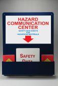 - Pocket-Style Aluminum Center: Hazard Communication Center