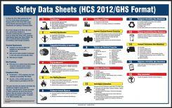 - SDS Poster: (HCS 2012/GHS Format) Safety Data Sheets