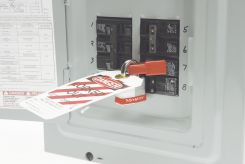 - Single Pole Style Circuit Breaker Lockout Device