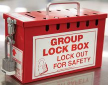- Portable Group Lockout Box