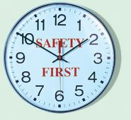 - Safety Message Wall Clocks: Safety First