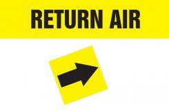 - Duct Marker: Return Air